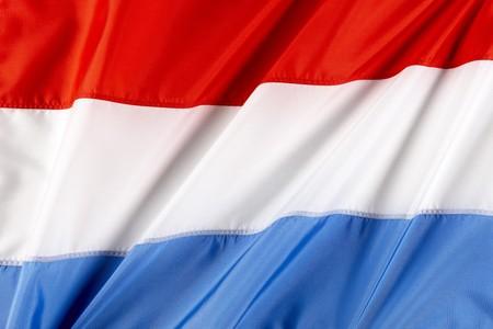 Sluit omhoog geschoten van vlag van Luxemburg