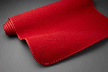 Red carpet starts to unroll Stock Photo - 8880691