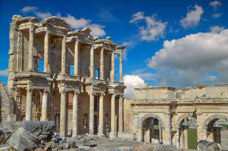 celsius: Ancient Celsius library in Ephesus