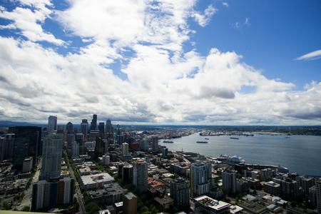 overlook: Seattle overlook on the Space Needle