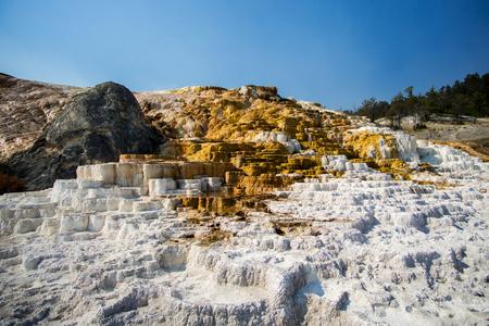 Natural sulphur and salt formation