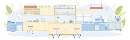 Environmental Analytical Laboratory Empty Interior