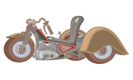 tricycle: Tricycle for grown kids.  Illustration