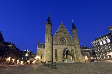 parliaments: Il Parlamento olandese dei parlamenti in Il Hage, het Binnenhof, dove il governo olandese risiede, e la regina legge olandese stato dell'Unione ogni terzo Giovedi nel mese di settembre  Archivio Fotografico