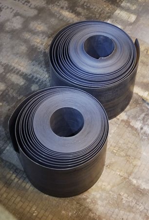 Two steel coils photo