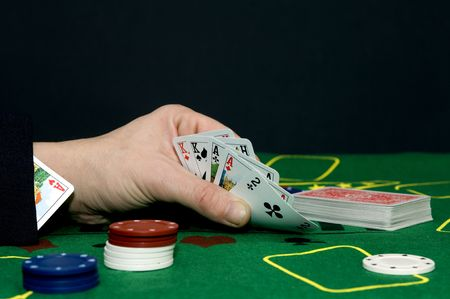 Having an ace up your sleeve, cheating at a game or committing adultery? photo
