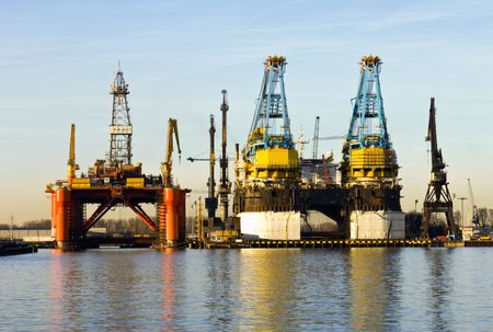 Two dry docks, used for ship building Stock Photo - 2613974