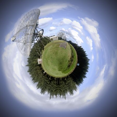 fictitious: Global communication theme