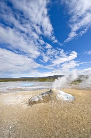 fumarole: Una fumarola en Hveravellir, Islandia