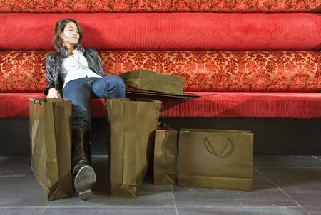 introvert: Tired from shopping