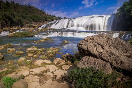 cataract waterfall: Huangguoshu waterfall