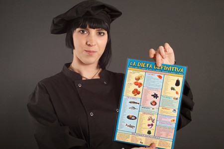 Spanish female cook photo