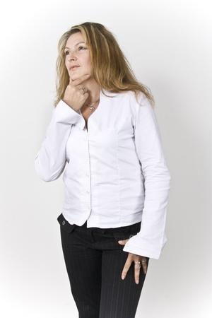 mujer: Mujer Concentrada