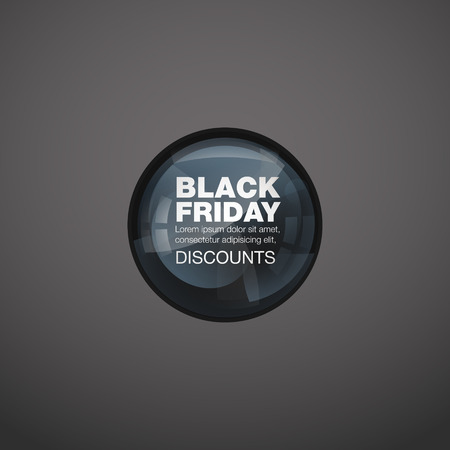 aureole: Glossy download button, speech bubble. Vector design elements for sale, discounte. Neon light round. Black Friday sale. Abstract colorful background.