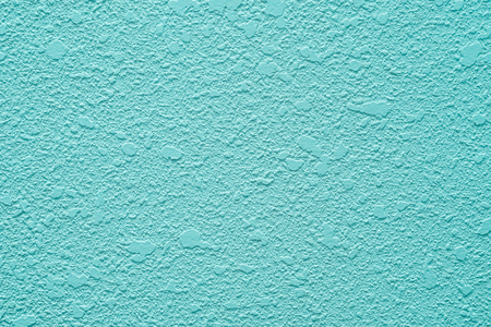 Blue concrete wall, abtract background with specific texture.