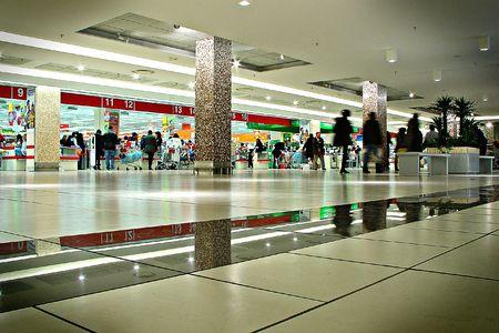 plaza comercial: Ir de compras en un centro comercial