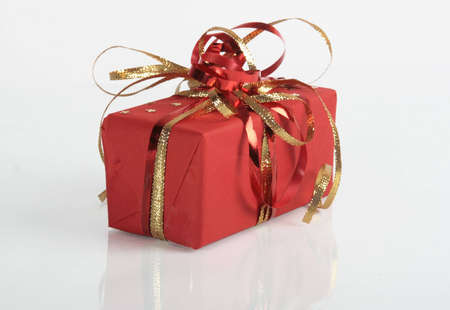 red gift Stock Photo - 4228759