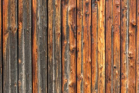 Background, rustic weathered wooden wall (horizontal)