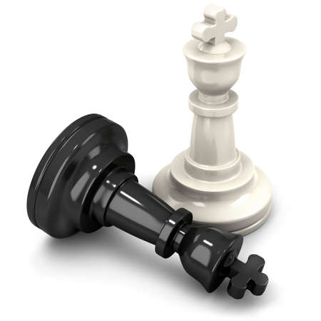 chess board: King chess mate