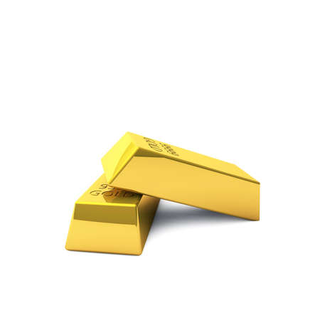 Two gold bars are a lot of wealth, even if they are small