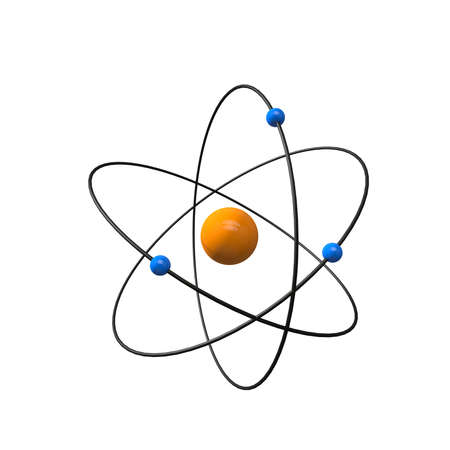 atomic center: a three-dimensional representation of an atom for the icon view