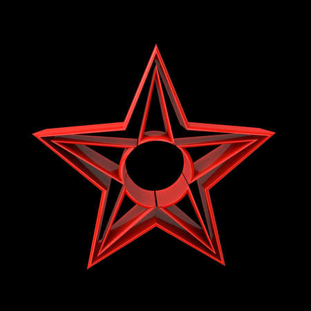 Red star of socialism in China, Russia and Vietnam
