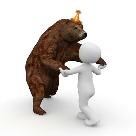 great danger: Dancing with the bear is very funny and can also bring great danger to themselves
