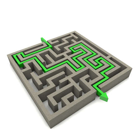 The labyrinth is a serious consequence of decisions to come out of the dark and become successful