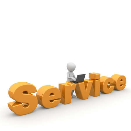 Service is to help by peoplealways equipped.