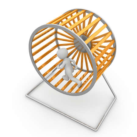It is possible to generate electricity with the help of a hamster wheel.
