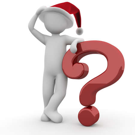 deliberation: For christmas party there are always many questions that must be answered.