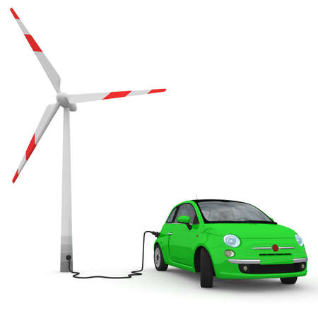 gaining: Alternative energy is gaining use in the auto world. Stock Photo
