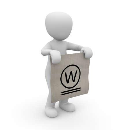 referenz: Das Etikett der Wasch zeigt einen Verweis auf die richtige Waschen.
