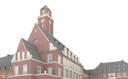 as one: The Bottrop town hall from 1918 is considered as one of the finest in the Ruhr.