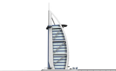 The Burj Al Arab is one of the most luxurious and expensive hotels in the world. Stock Photo - 20732269