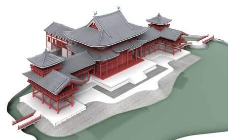 3d temple: Byodo in is a Buddhist temple there was the war Gempei instead.
