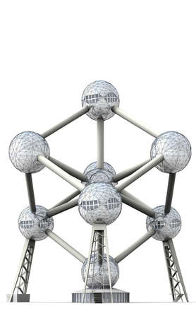 energy use: The Atomium was designed as a symbol of the atomic age and the peaceful use of nuclear energy. Editorial