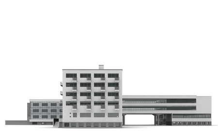 bauhaus: The Bauhaus Dessau is a school building for art, design and architecture school.