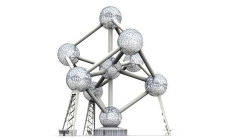 The Atomium was designed as a symbol of the atomic age and the peaceful use of nuclear energy. Editöryel