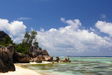 seychelles: Seychelles dream beach Stock Photo