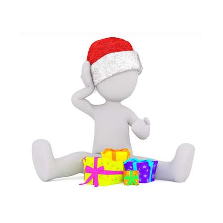 human figure: regalos para navidad sombrero