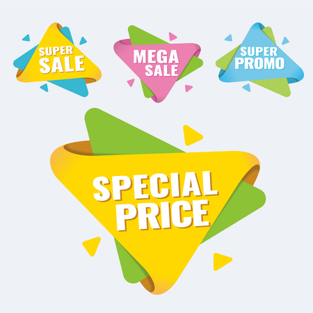 Hot Sale and Hot Deal banners, special offer, up to 75 off, vector illustration text,  vector,  vibrant,  weekend,  yellow Ilustração