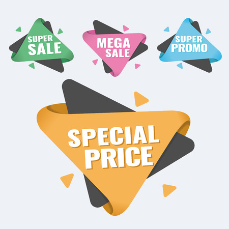 Hot Sale and Hot Deal banners, special offer, up to 75 off, vector illustration text,  vector,  vibrant,  weekend,  yellow Illustration