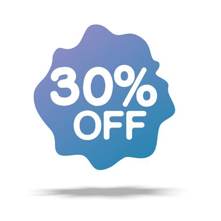 Sale special offer banner illustration