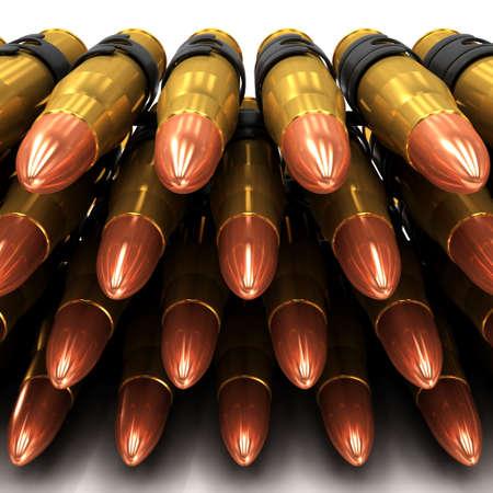 maim: 3d Machine gun bullets