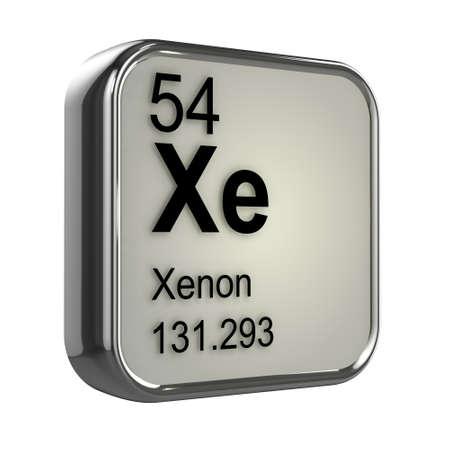 xenon: 3d render of xenon element design