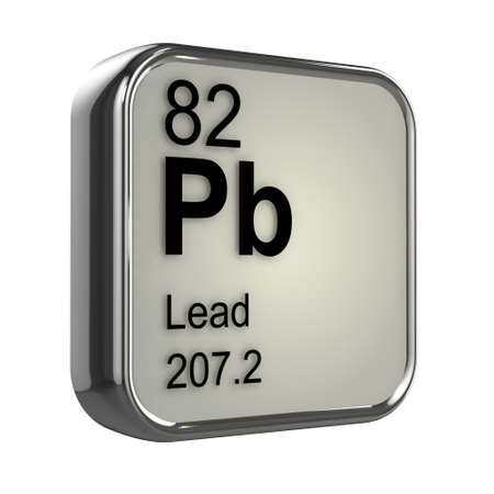 3d render of lead element design photo