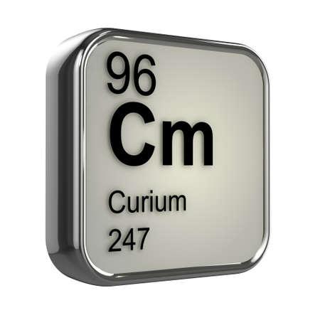 protons: 3d de dise�o elemento curio Foto de archivo