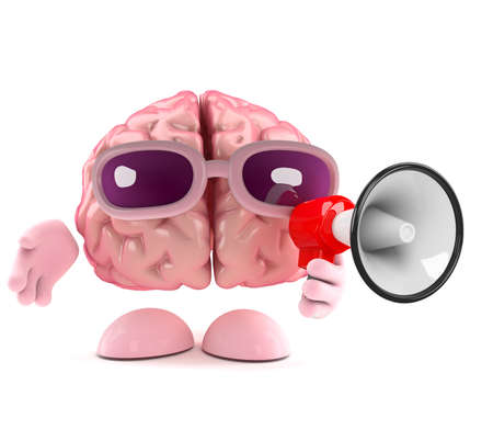 loudhailer: Procesamiento 3D de un cerebro con un meg�fono