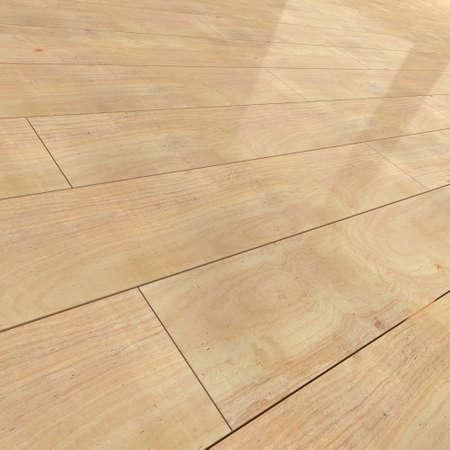 flooring: 3d render of wooden flooring tiles Stock Photo
